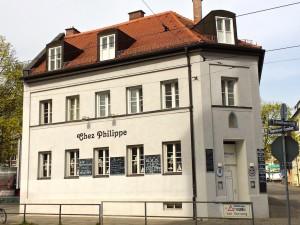 AFrench restaurant Chez Philippe