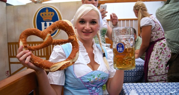 Oktoberfest Wiesn in Munich