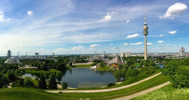 Olympiapark and BMW in Munich
